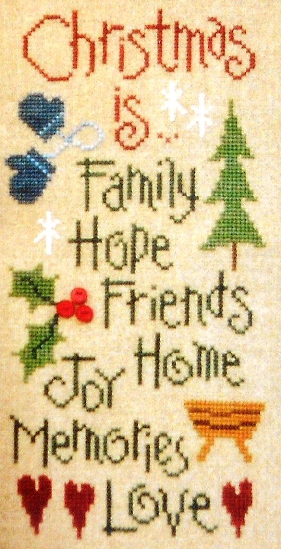 Lizzie Kate CHRISTMAS IS... Hope Family by ThePamperedStitcher