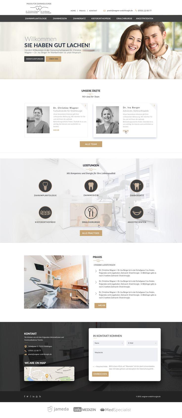 Dental Office Website Design | Home Design Ideas