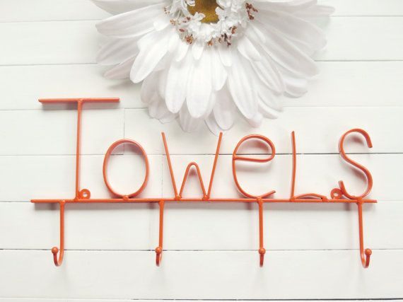 CHOOSE COLOR / Pool Sign / Towel Holder / Pool by WillowsGrace