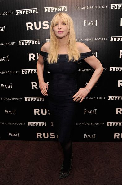 Courtney Love Photos: 'Rush' Screening in New York City