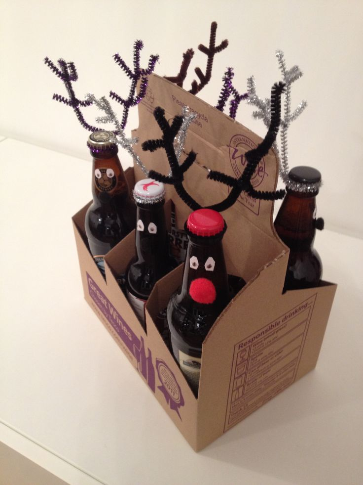 rudolf and 5 friends for Grandads stocking filler