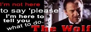 Mr. Wolf - Pulp Fiction