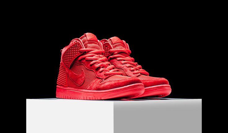 """Nike Dunk CMFT PRM """"Red October"""" (705433-601)"""