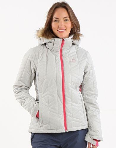 £185 Helly Hansen Womens Prime Jacket - Light Grey