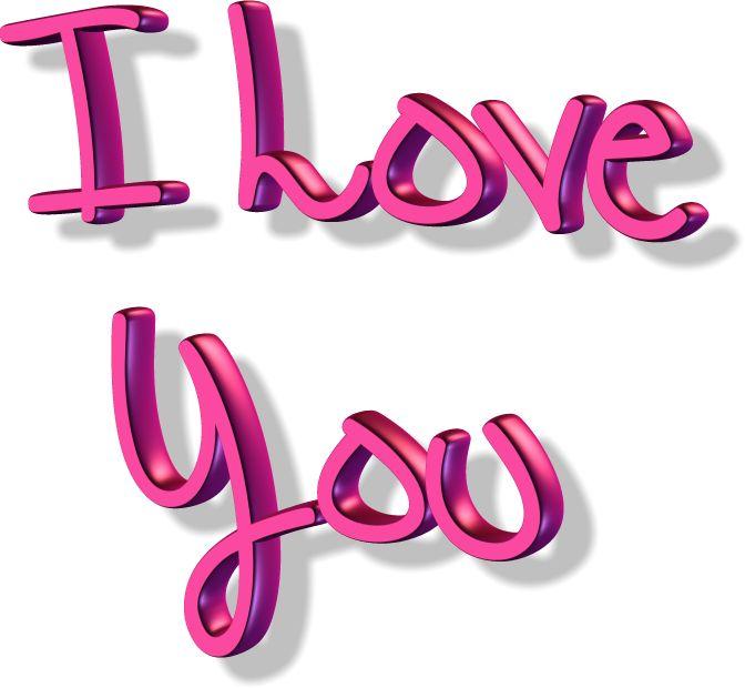 l love you картинки