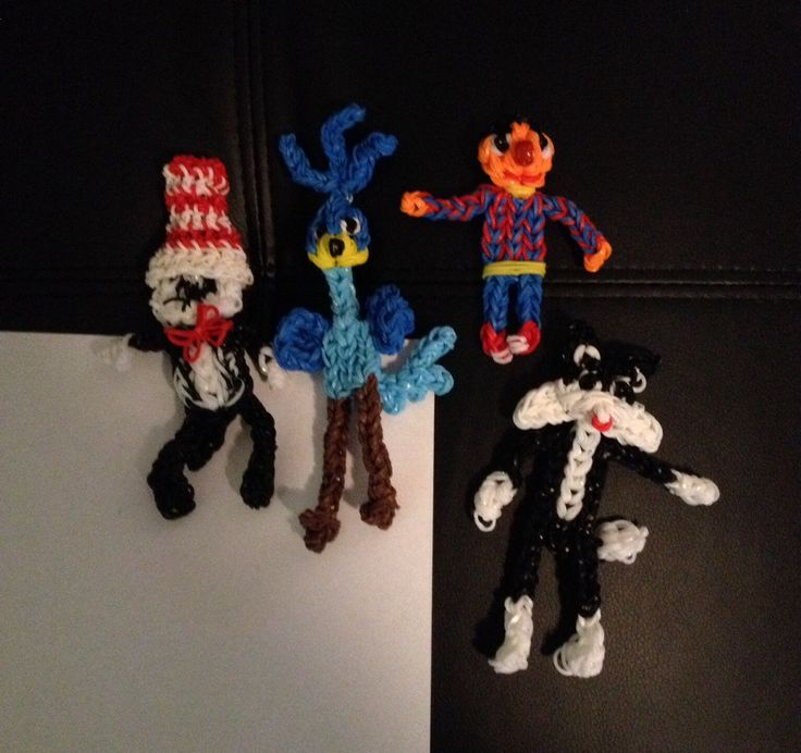 Sesame Street Characters made from Looms :)) 2014