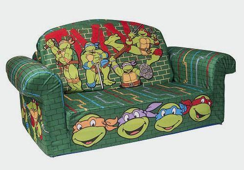 "Nickelodeon Teenage Mutant Ninja Turtles Flip Open Sofa - Spin Master - Toys ""R""…"