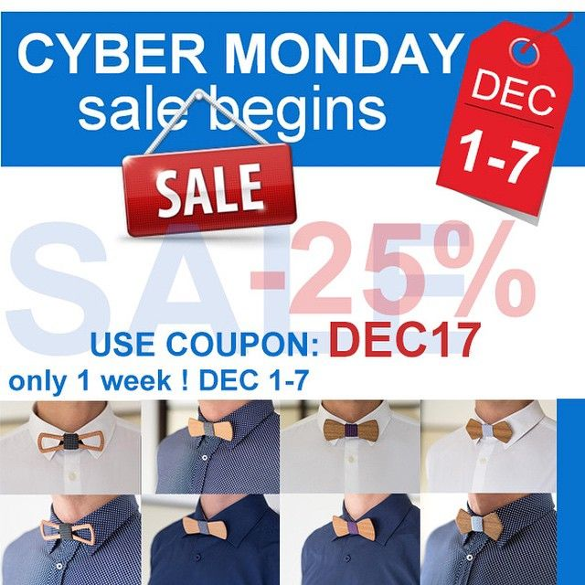 Sale 25 Only 1 Week Dec 1 7 Use Coupon Dec17 On Www Twinsbowties Com And Etsy Com Ebay Com 25 Too Cybermonday Best In The World Woode In 2020 Cyber Monday