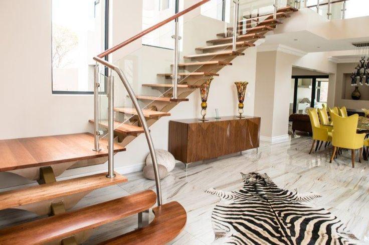 custom staircase by Steel Studio