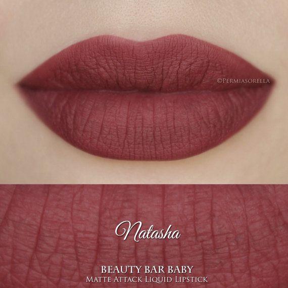 Schneewittchen Natasha Liquid Lipstick Matte flüssiger von BeautyBarBaby auf Etsy