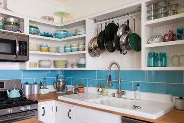 Chelsea + Kiel: Columbus, Ohio eclectic-kitchen