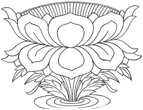 89 best tibetian images on pinterest tibetan art buddhism and tibetan lotus drawing 3 this is now my fave working on reduced adapted size mightylinksfo