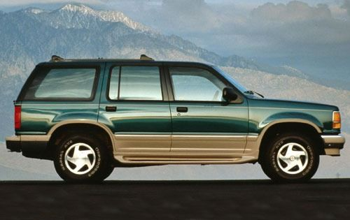 1992 Ford Explorer XLT – Colour: Cayman Green / Medium Mocha Man do I remember these. Loved them.