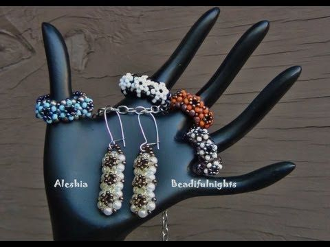 Trinity Beaded Ring Tutorial you can also find this great hand display at Hobby Lobby for about $5.00