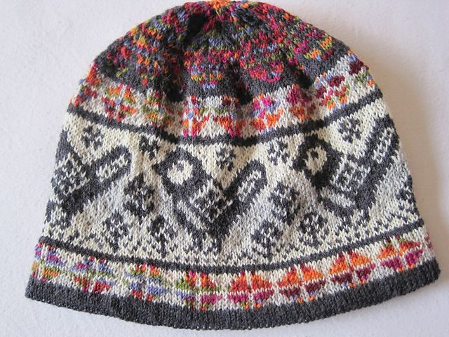 Ravelry: Chickadee Ski Hat pattern by Susan Anderson-Freed