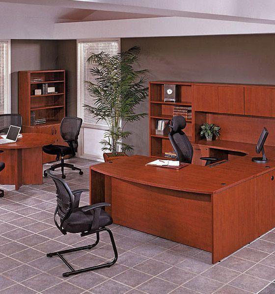 Laminate Cherryman and Office Star Desks - Office Furniture Warehouse