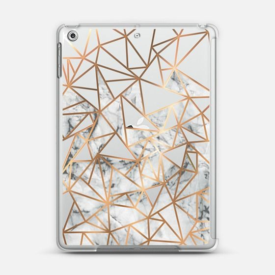 Copper gold and marble case iPad Air 2