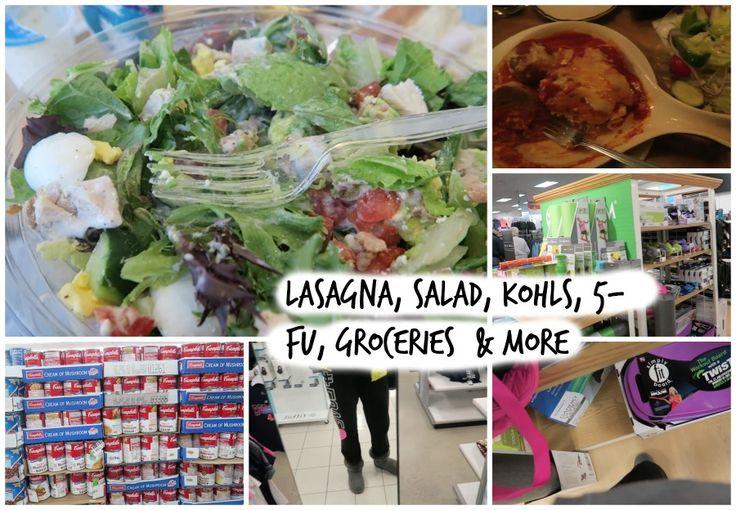 lifestyle: Lasagna, kohls, groceries -vlog
