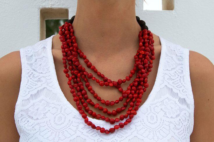 Jumbie Seeds Necklace