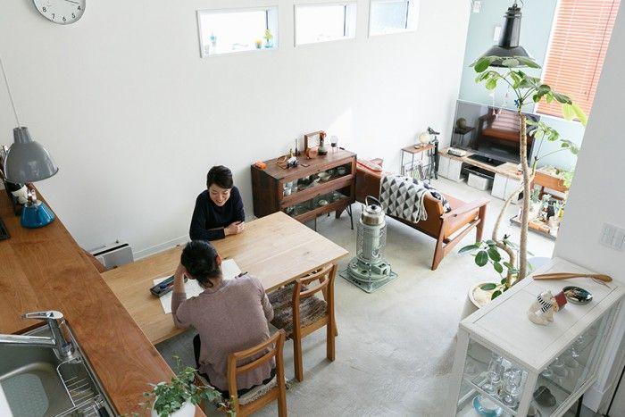 年間ランキング 憧れの家は、どんな家? 2015年、最高の家 ! | 100%LiFE 第8位 土間のある家手づくり家具のぬくもりとユニークな土間のある暮らし