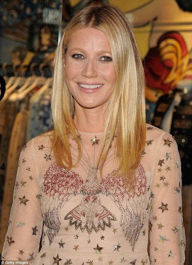 Gwyneth Paltrow Channels Quirky Fashion with Star Sprinkled Frock and Baby Doll Shoes   Buy ➜ http://shoespost.com/gwyneth-paltrow-valentino-pumps-goop-store-launch-new-york/
