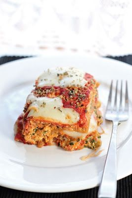 Eat Good 4 Life » Vegetarian lasagna