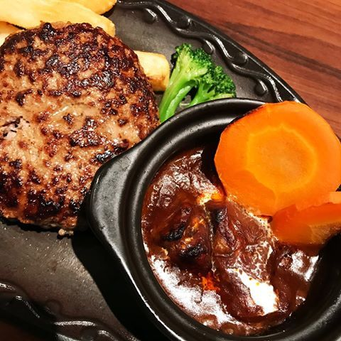 Hambagu If All Else Fails Enjoy A Japanese Hamburger Steak Japan Food In Our Blog Much More Information Http Storelatina Com Recipes Japan Food Food
