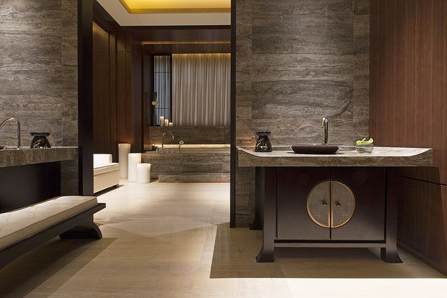 The Westin Xiamen—Heavenly Spa Bathroom | Flickr - Photo Sharing!
