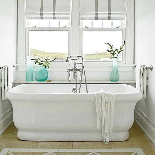 Beach House Bathrooms - Coastal Living