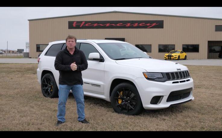 VIDEO: Jeep Grand Cherokee SRT Trackhawk Top Speed Test!