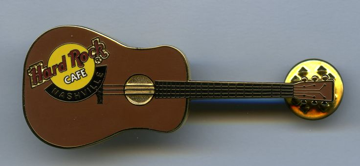 Nashville - Hard Rock Cafe Guitar Pin