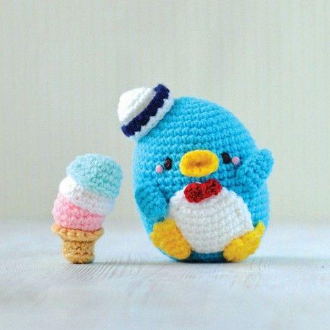 Cool Ice Cream Crafts - AmiguruMEI Tuxedo Sam free ...