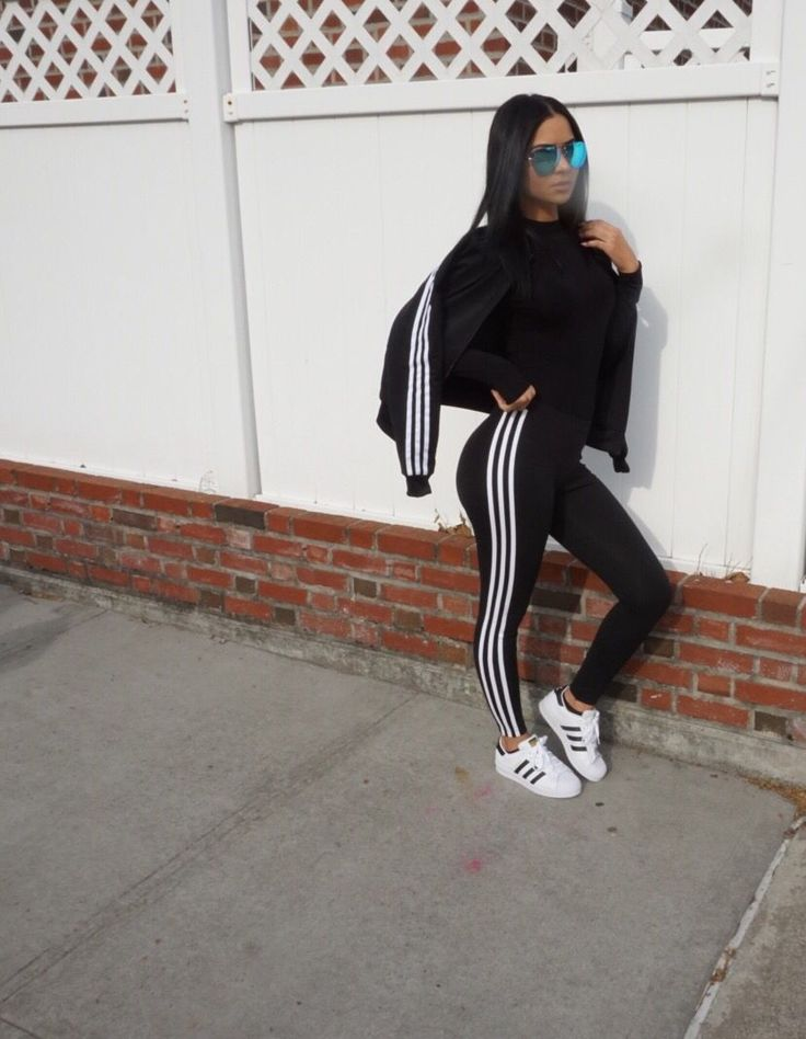 Outfit Leggings Adidas