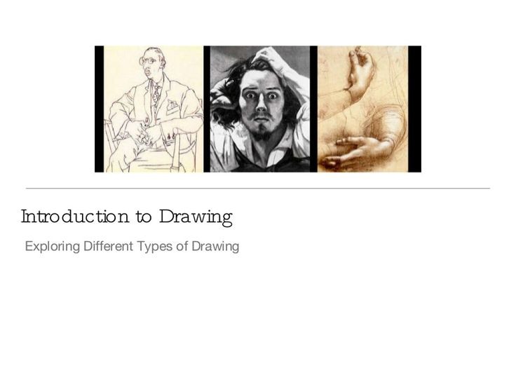 types-of-drawing by Riverwood HS via Slideshare