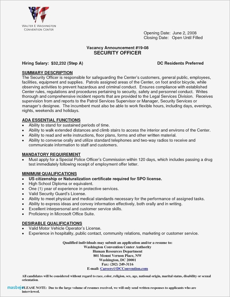 Best refrence new security and bodyguard jobs resume by