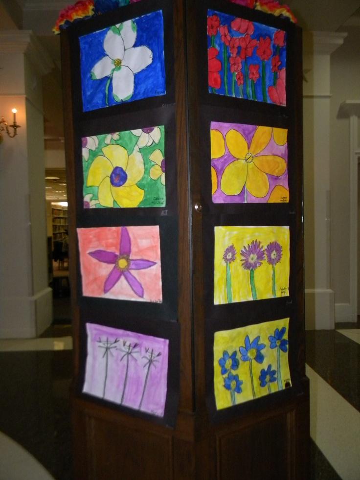 Texas Native Plant Art Exhibition 2012, McNair Elementary and Newton Razor  Elementary Schools of Denton