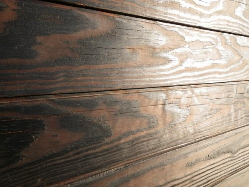 Shou sugi ban burned wood siding oddly burned wood for Fire resistant house siding material hardboard