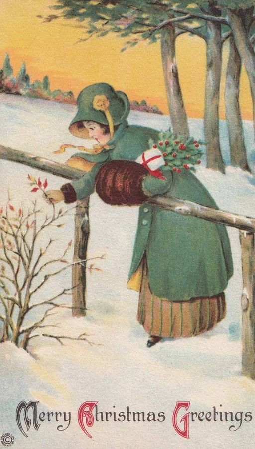 Old Christmas Card —  (512x900):