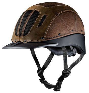Troxel Sierra Western Riding Helmet Color: Black, Size: Medium