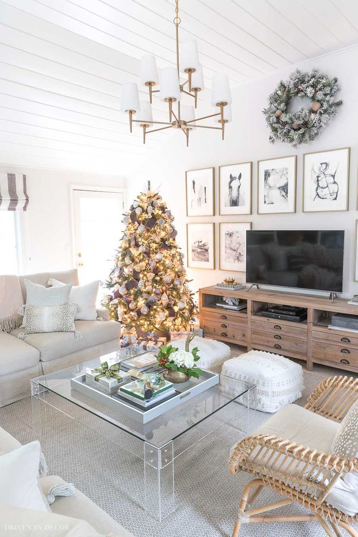 A Peek At My 2019 Holiday Decorating Plans Winter Living Room