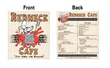 redneck menu