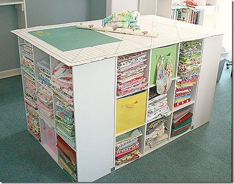 After posting accessories for thread and bobbin storage, I got to thinking further about fabric storage. During the creation of the TOSN, I...
