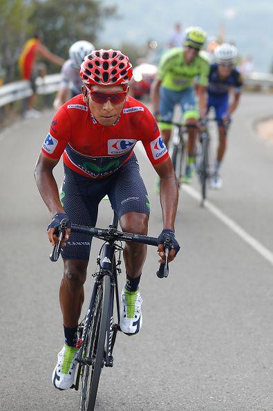Tour of Spain 2016 Stage 20 Nairo Quintana / Tim de Waele Getty Images