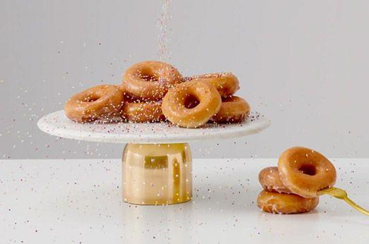 Gut Daan Tortenplatte Marmor Und Gold #dekoration #deko #interior #sweet #donut  #