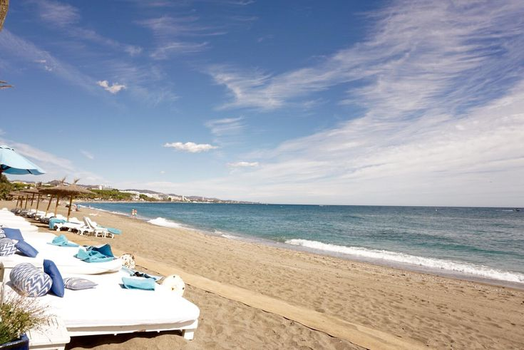 Marbella Club Hotel, Golf Resort & Spa.  Located on the Southern Spanish Costa del Sol, on the heart of the 'Golden Mile' and only five minutes to Old Town Marbella and Puerto Banús, the Marbella Club Hotel • Golf Resort & Spa enjoys 325 days of sunshine.