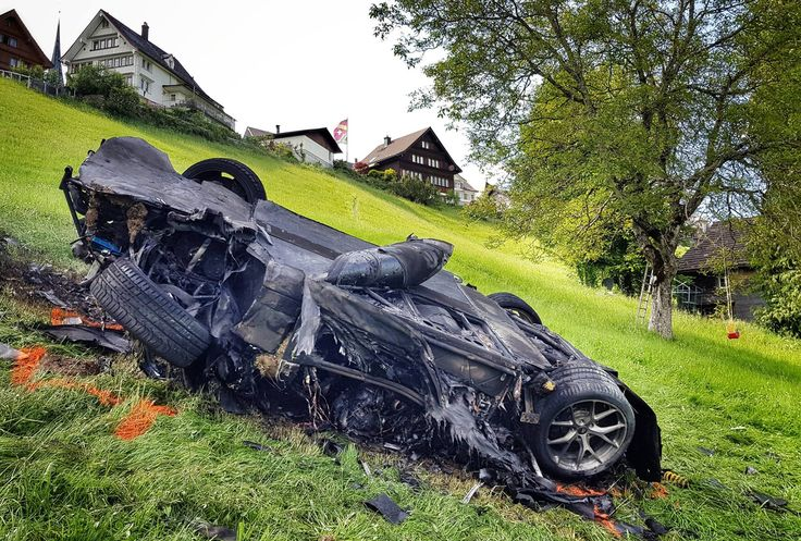 """The Grand Tour"" host Richard Hammond managed to walk away without serious injury after a violent crash on Saturday. The former ""Top Gear"" host was filming a segment for the second season of his new show, which involved him driving the Rimac Concept_One electric supercar up…"