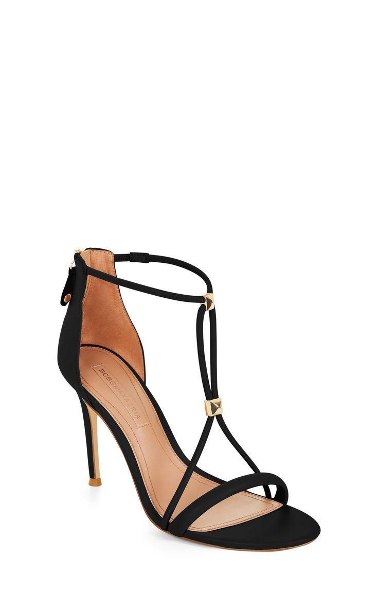 e792dcf8170608 Nixie Studded Leather Sandal  ad Bcbgmaxazria