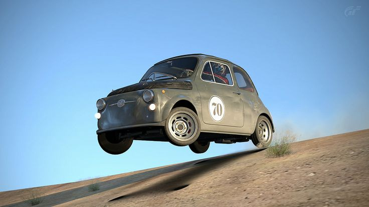 FIAT 500 1968 | Gran Turismo 6 | zork pics | Flickr