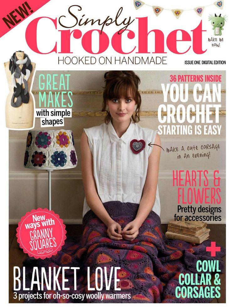Revista crafts crochet y tutoriales  preciosa publicacion la comparto con todas las seguidoras de mi tablon de facebook, y con todos los seguidores de mis blogs muchas gracias por seguirme.
