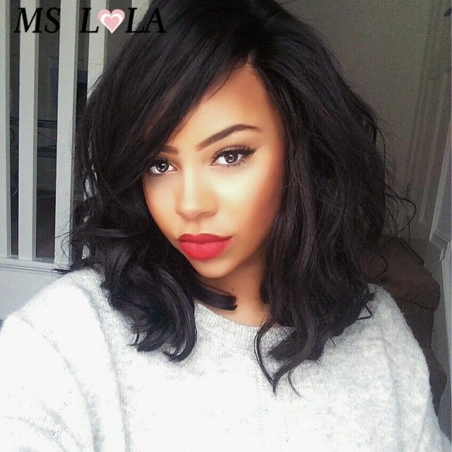 Find More Human Wigs Information about Hot selling virgin brazilian full lace human hair wigs wavy bob style brazilian human hair lace front wigs for black women,High Quality wig stand,China wig caps for wig making Suppliers, Cheap wig caps for sale from MsLola Hair Products Co.,Ltd on Aliexpress.com